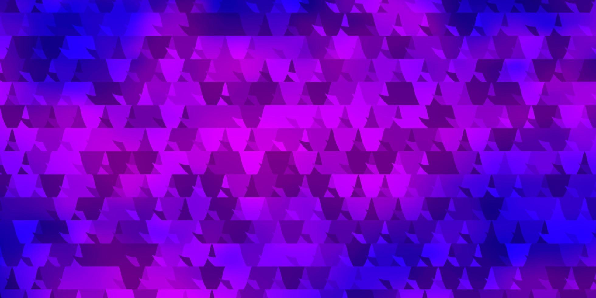 lichtpaarse, roze vector achtergrond met veelhoekige stijl.