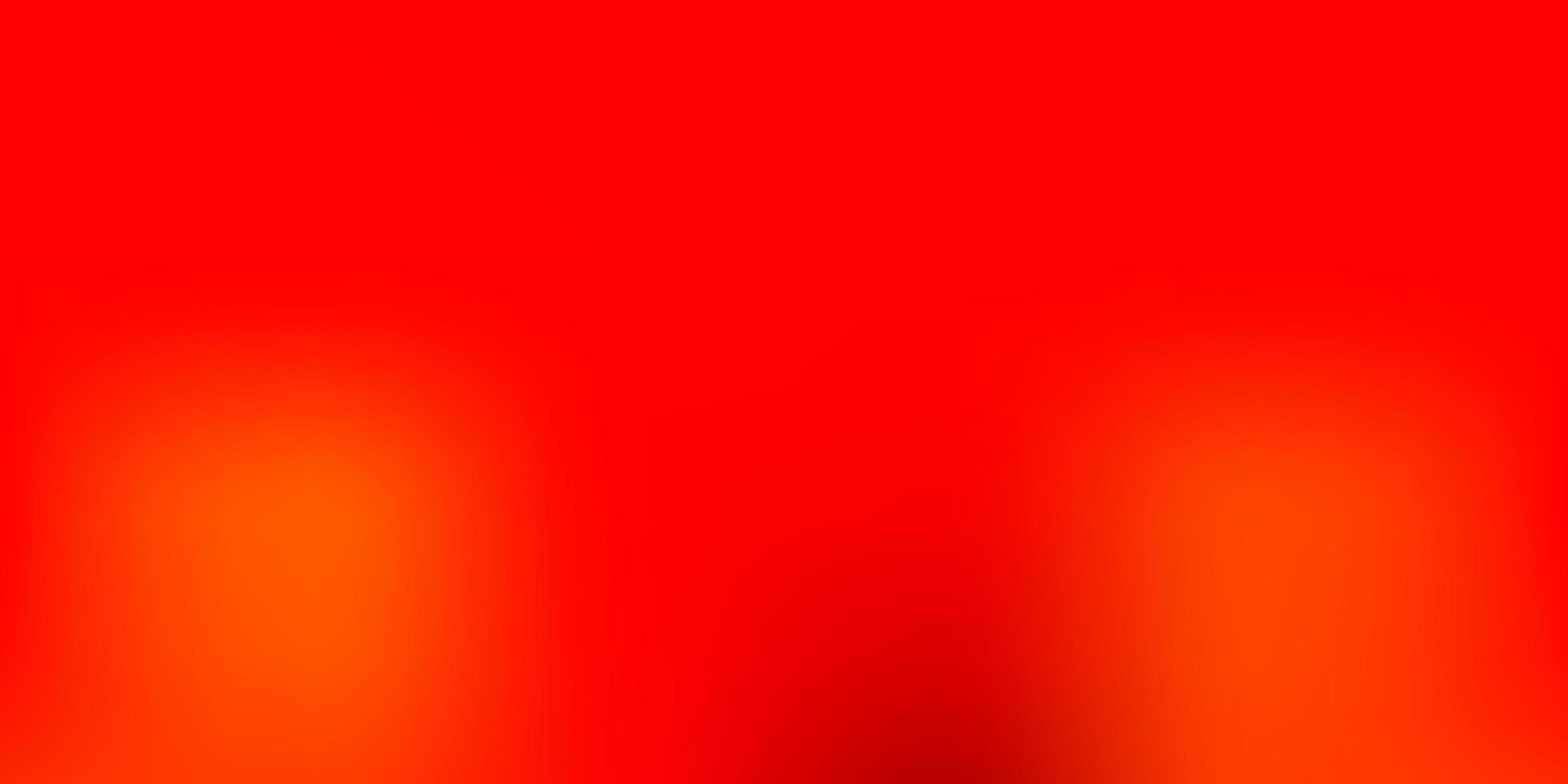lichtoranje vector abstracte vervagingstekening.