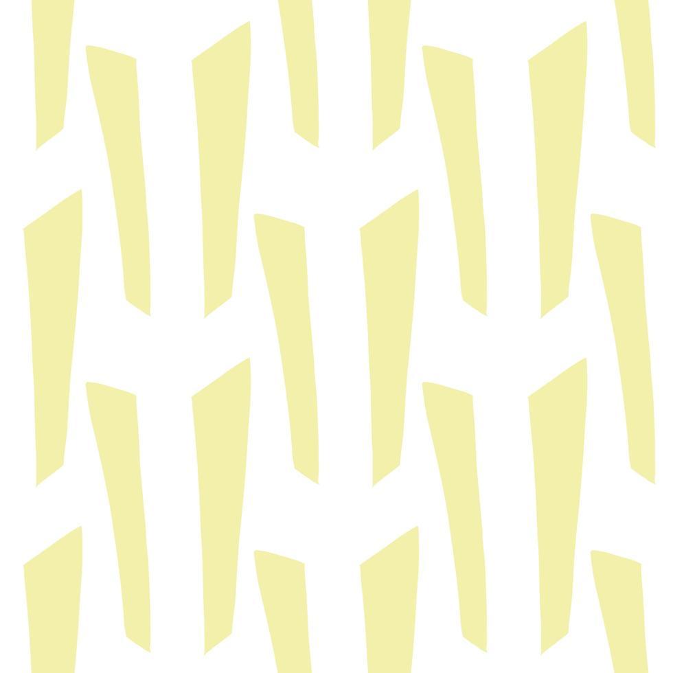 vector naadloze structuurpatroon als achtergrond. hand getrokken, gele, witte kleuren.