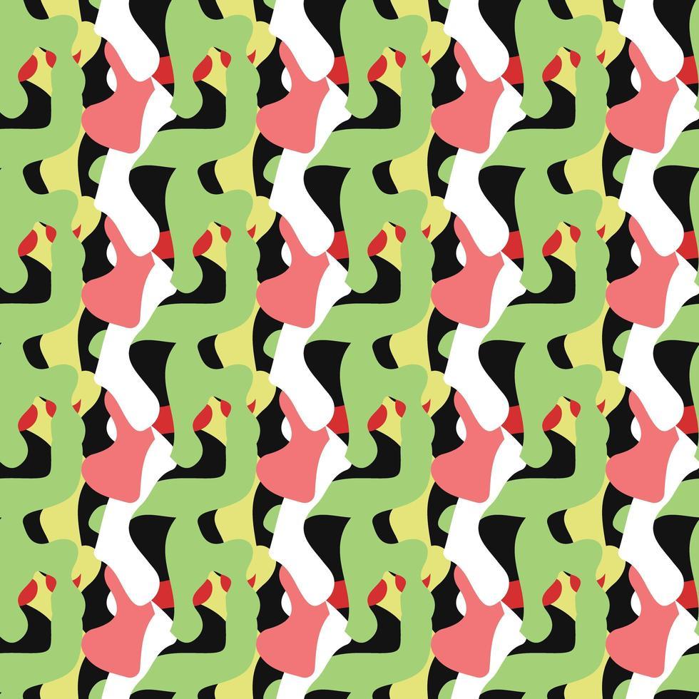 vector naadloze structuurpatroon als achtergrond. hand getrokken, kleurrijk.