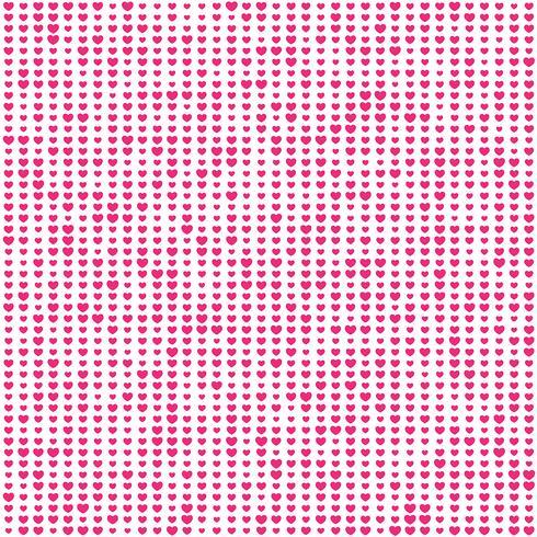 Valentijnsdag hart patroon achtergrond vector