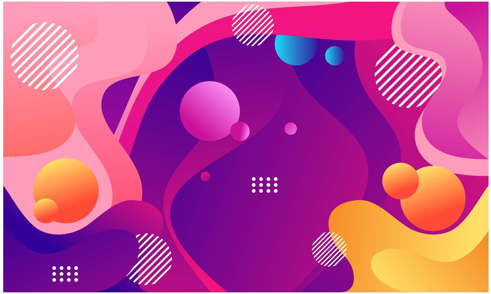 abstracte geometrische vormen achtergrond vector