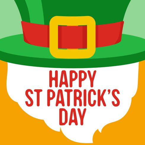 Happy St Patrick Day Achtergrond vector