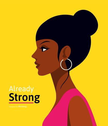 Internationale Vrouwendag Vector Poster