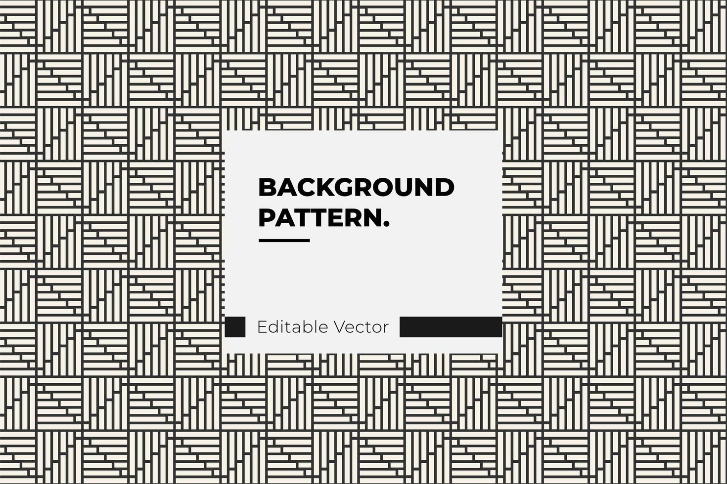 hoekige vierkante lijnpatroon vector