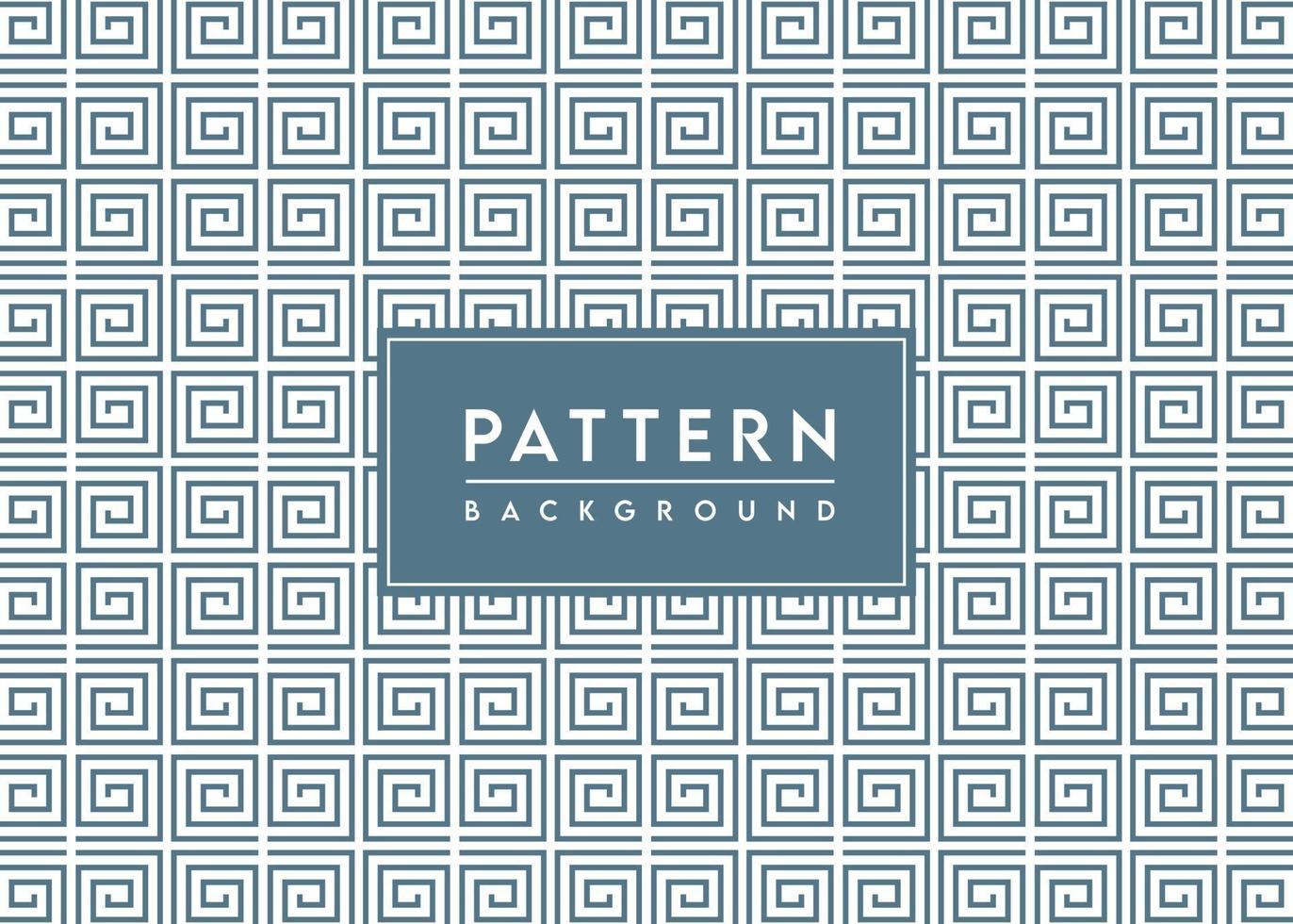 spiraalvormig vierkant patroon geweven vectorontwerp als achtergrond vector