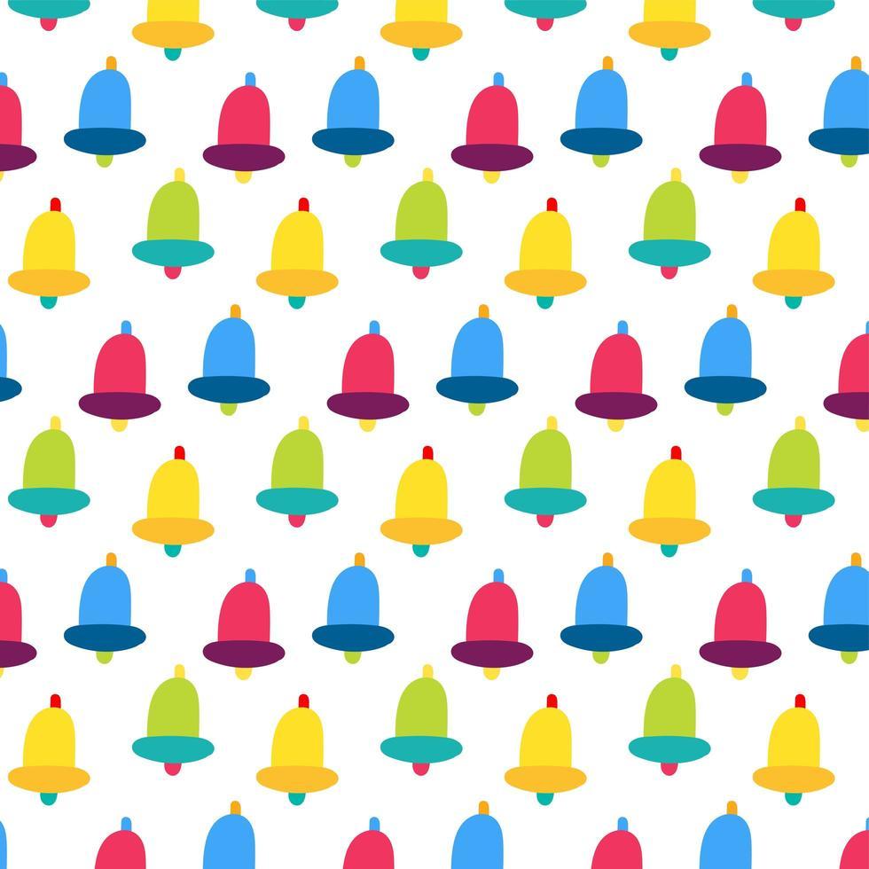 handbel vector naadloze patroon