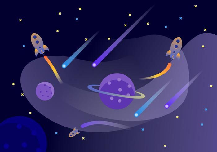 uitstekende universum elementen vectoren