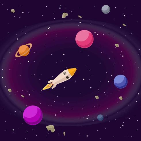 Kosmos Illustratie Vector