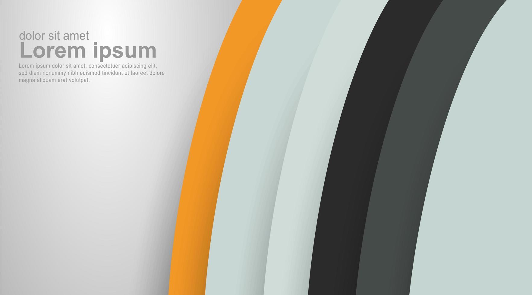abstracte vector achtergrond. gebogen lijn textuur.