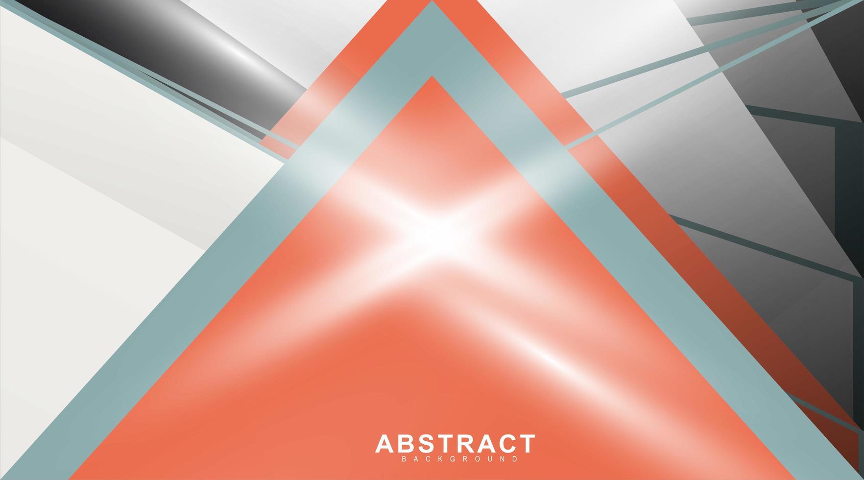 abstract vector achtergrond met hoekige lijnen