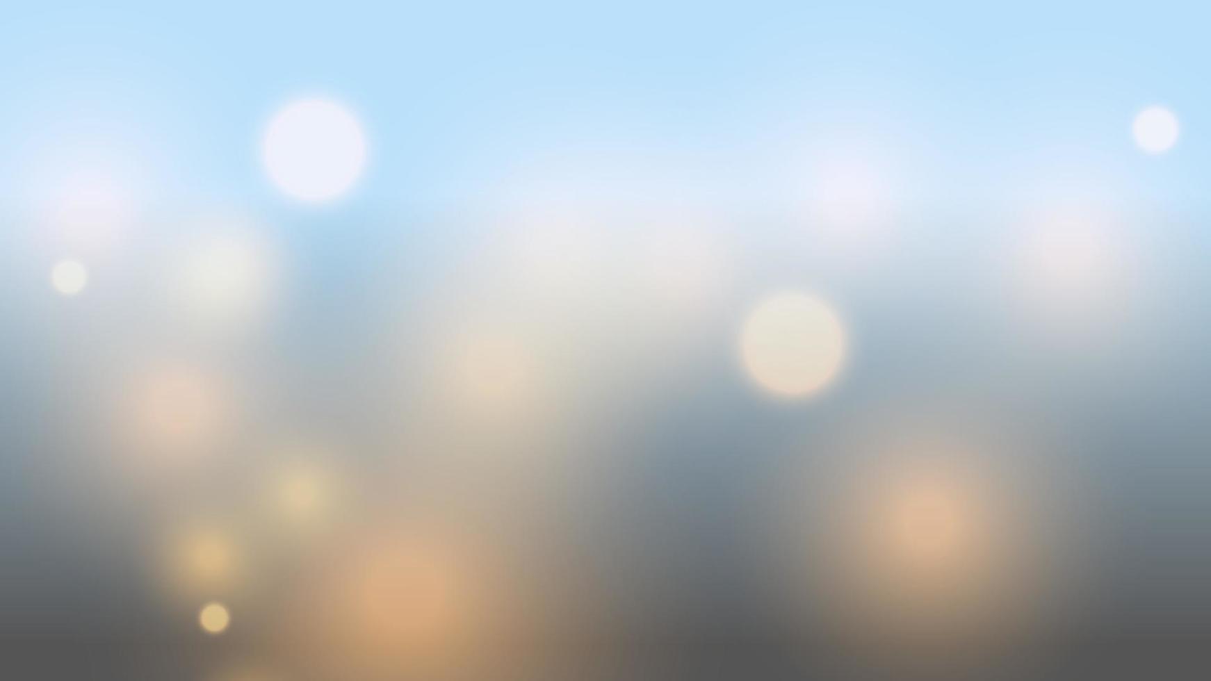 abstracte bokeh lichte achtergrond illustratie vector