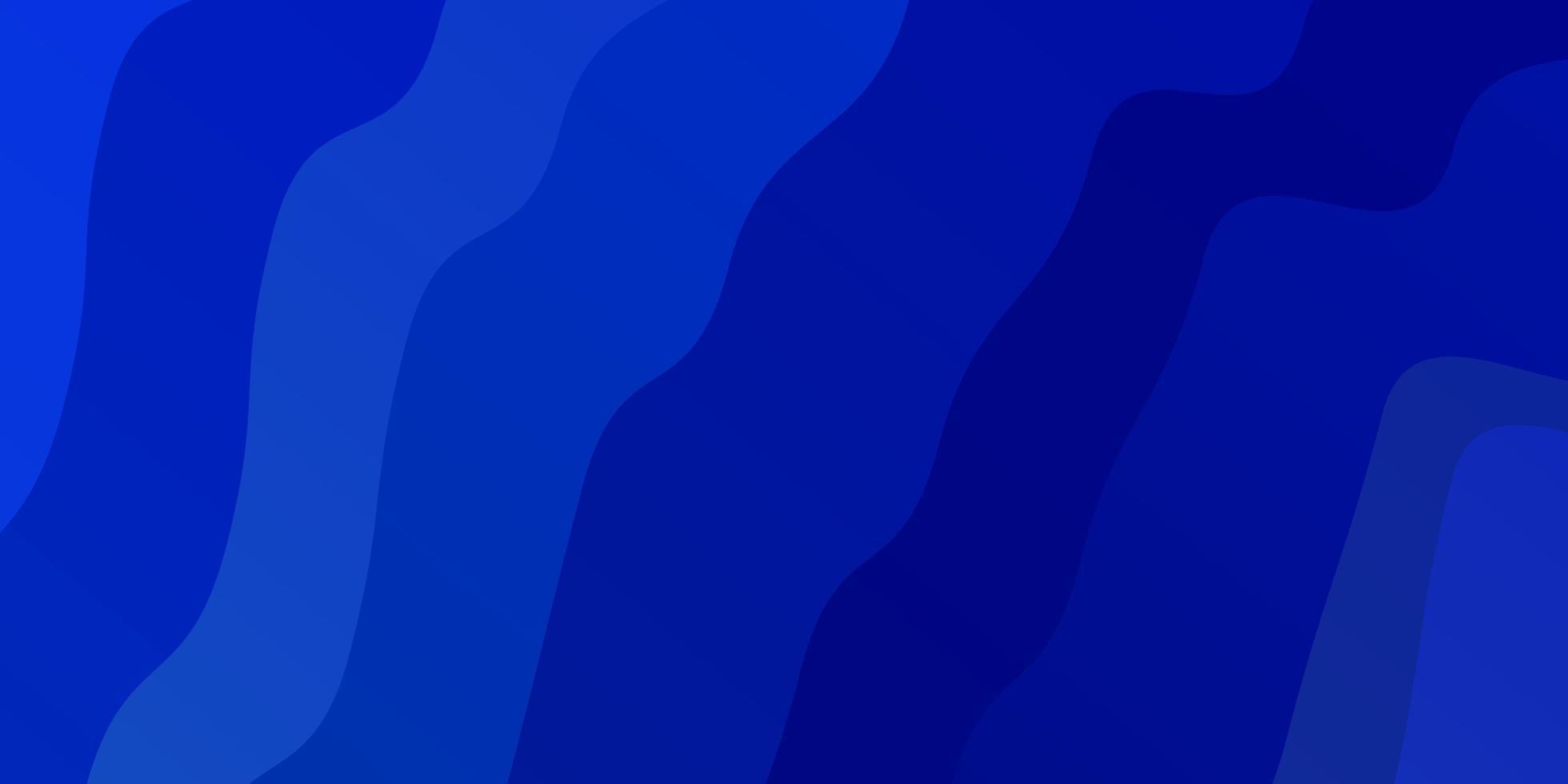 lichtblauwe, gele vectorlay-out met wrange lijnen. vector