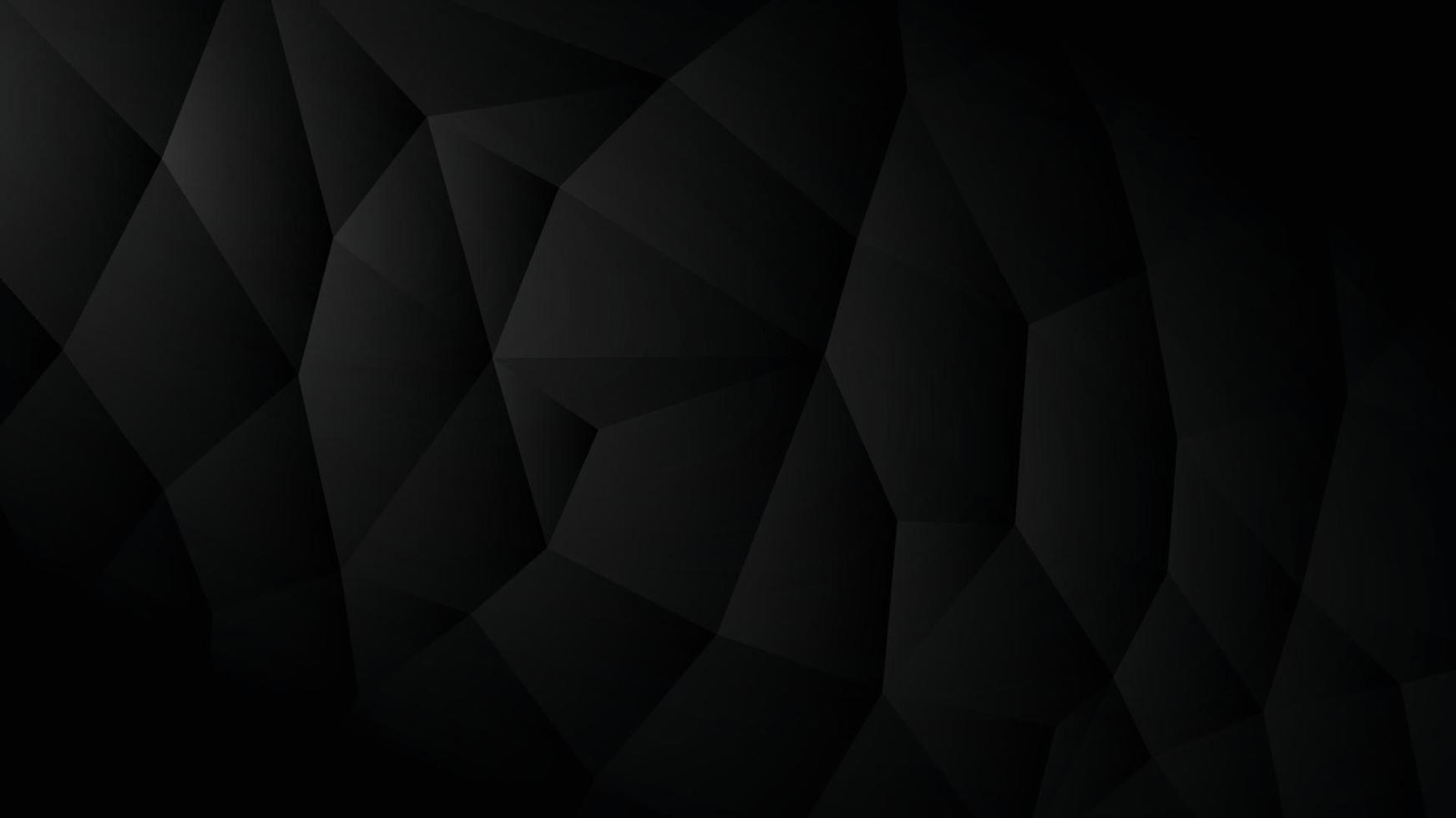 achtergrondafbeelding met oppervlak van driehoeken verbonden in een donkere toon. vector