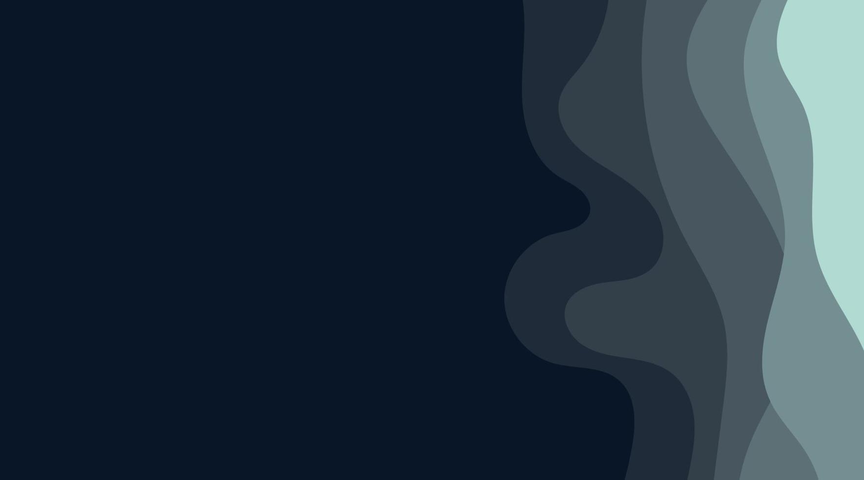 abstracte achtergrond met diepe golfstijl. vector ontwerp afbeelding achtergrond