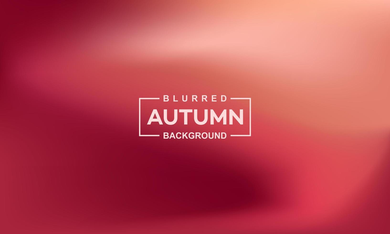 wazig herfst achtergrond sjabloon voor spandoek vector