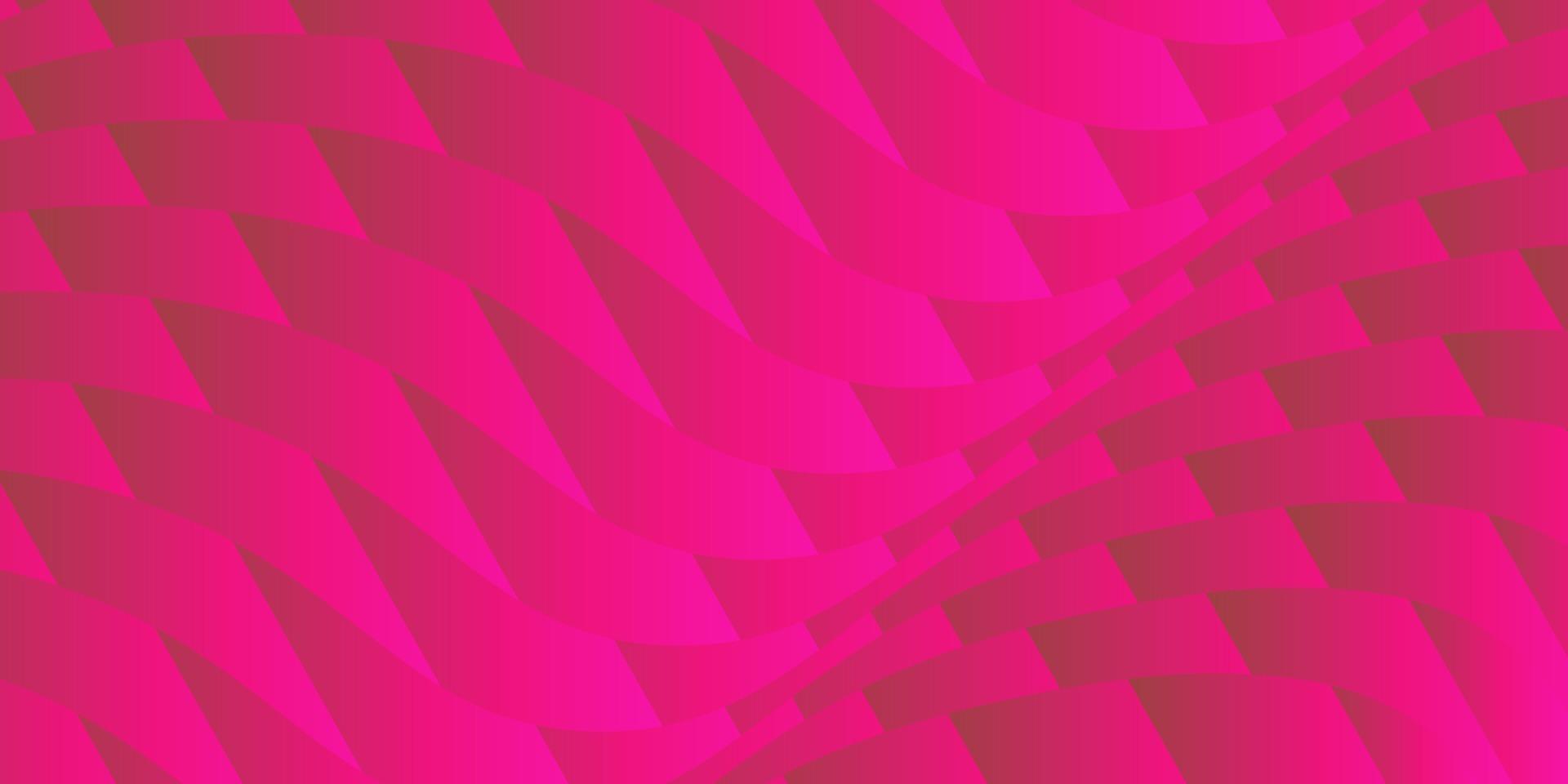 abstracte achtergrond roze vierkante golf vector