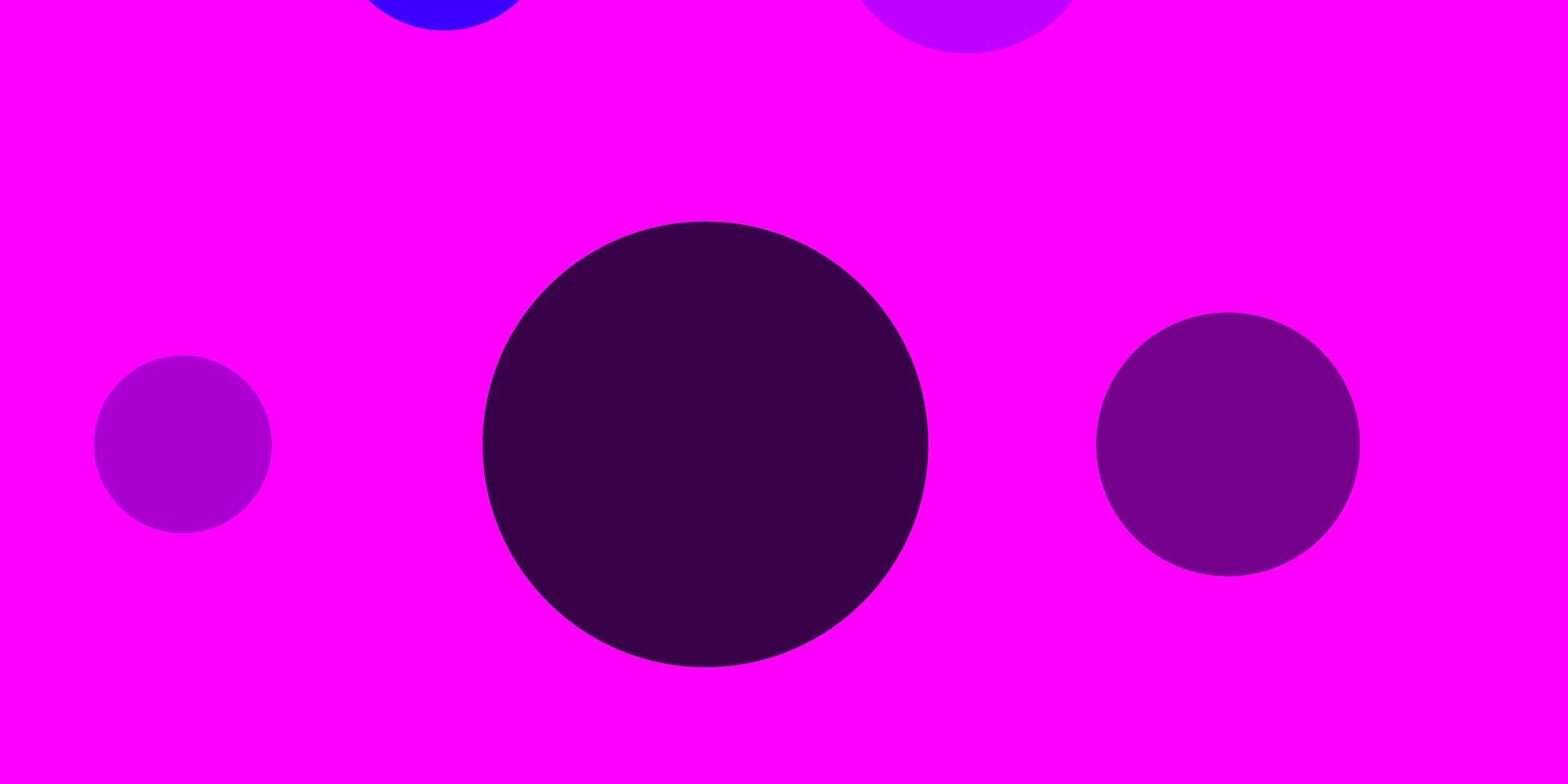 lichtroze, blauwe vectorachtergrond met bellen. vector