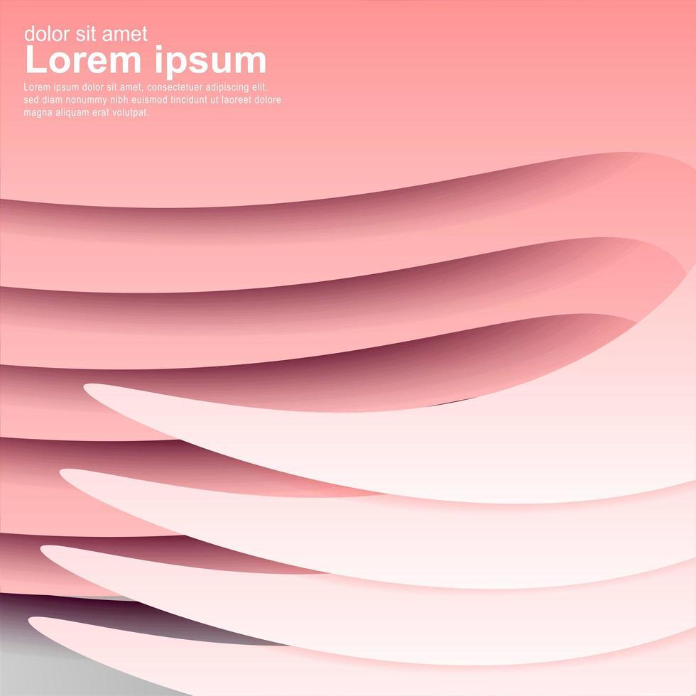 roze golf abstracte achtergrond. vector
