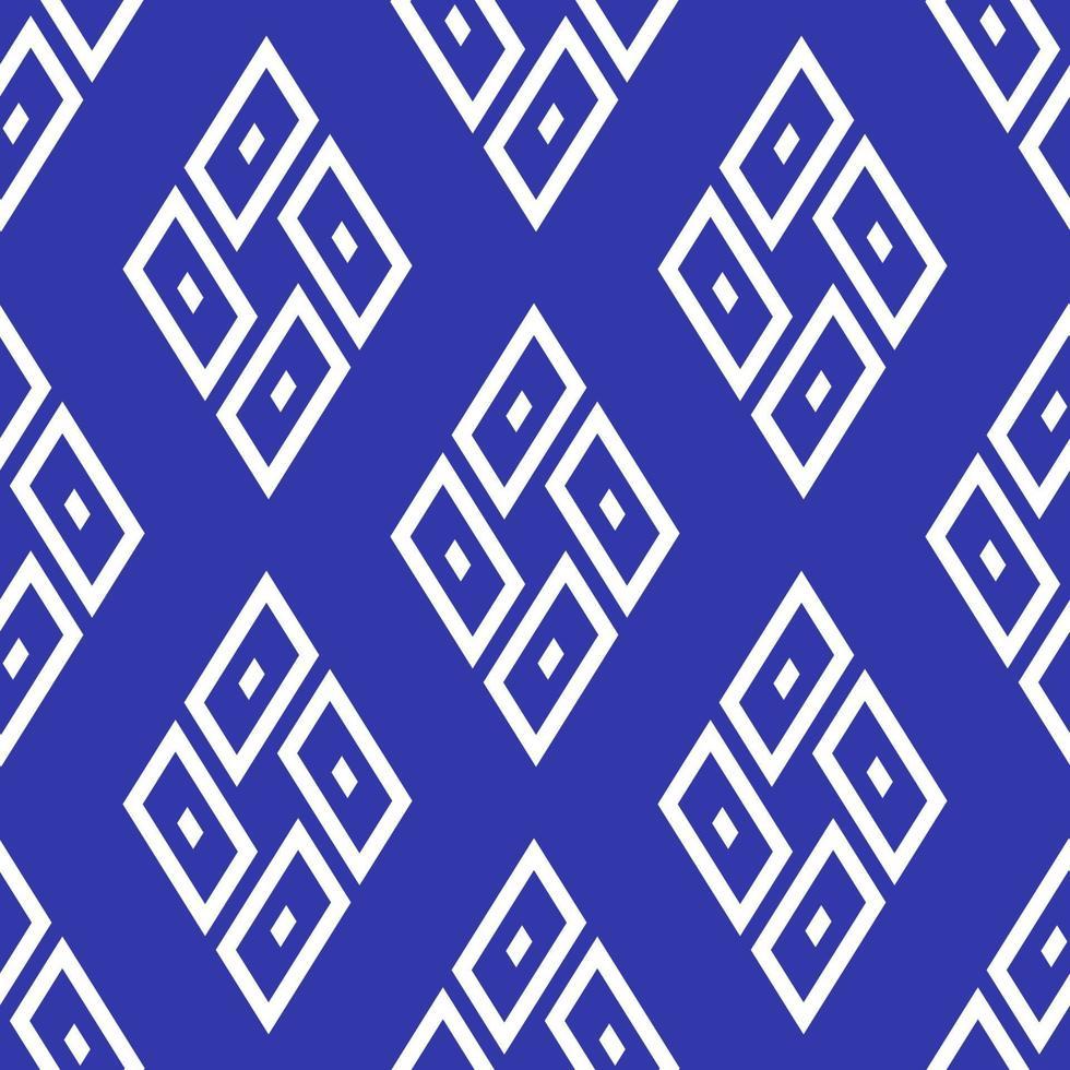 blauwe kleur naadloze geometrische achtergrond. vector