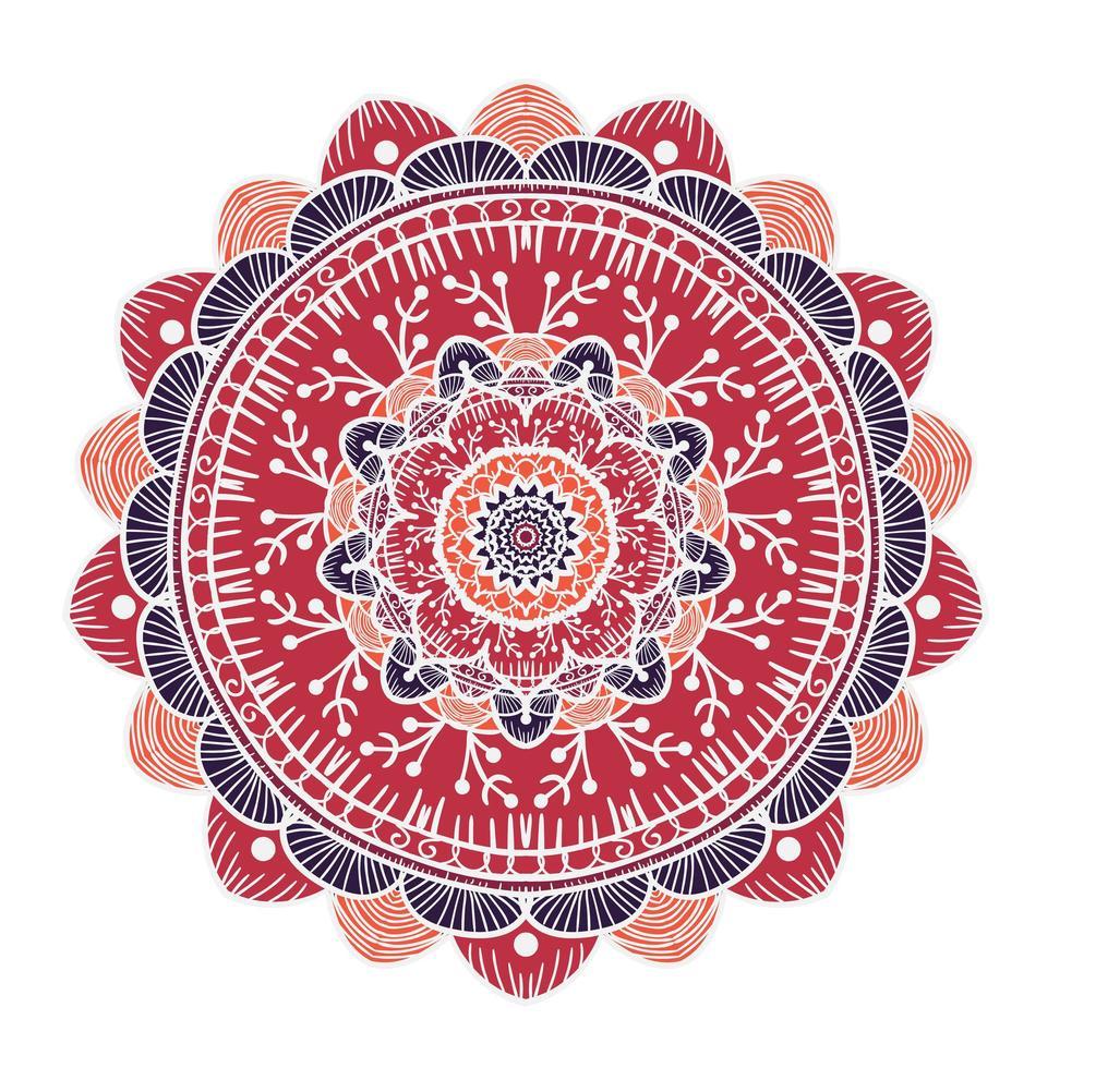 mandala regelsjabloon vector