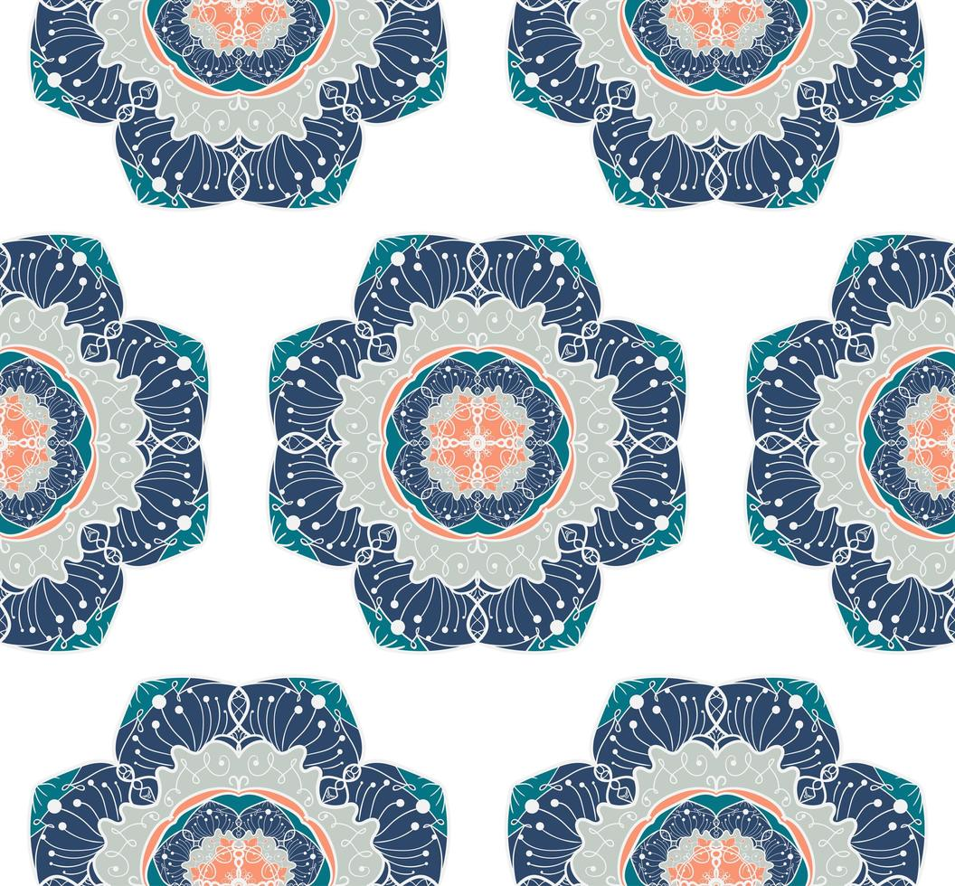 mandala naadloze patroon vector