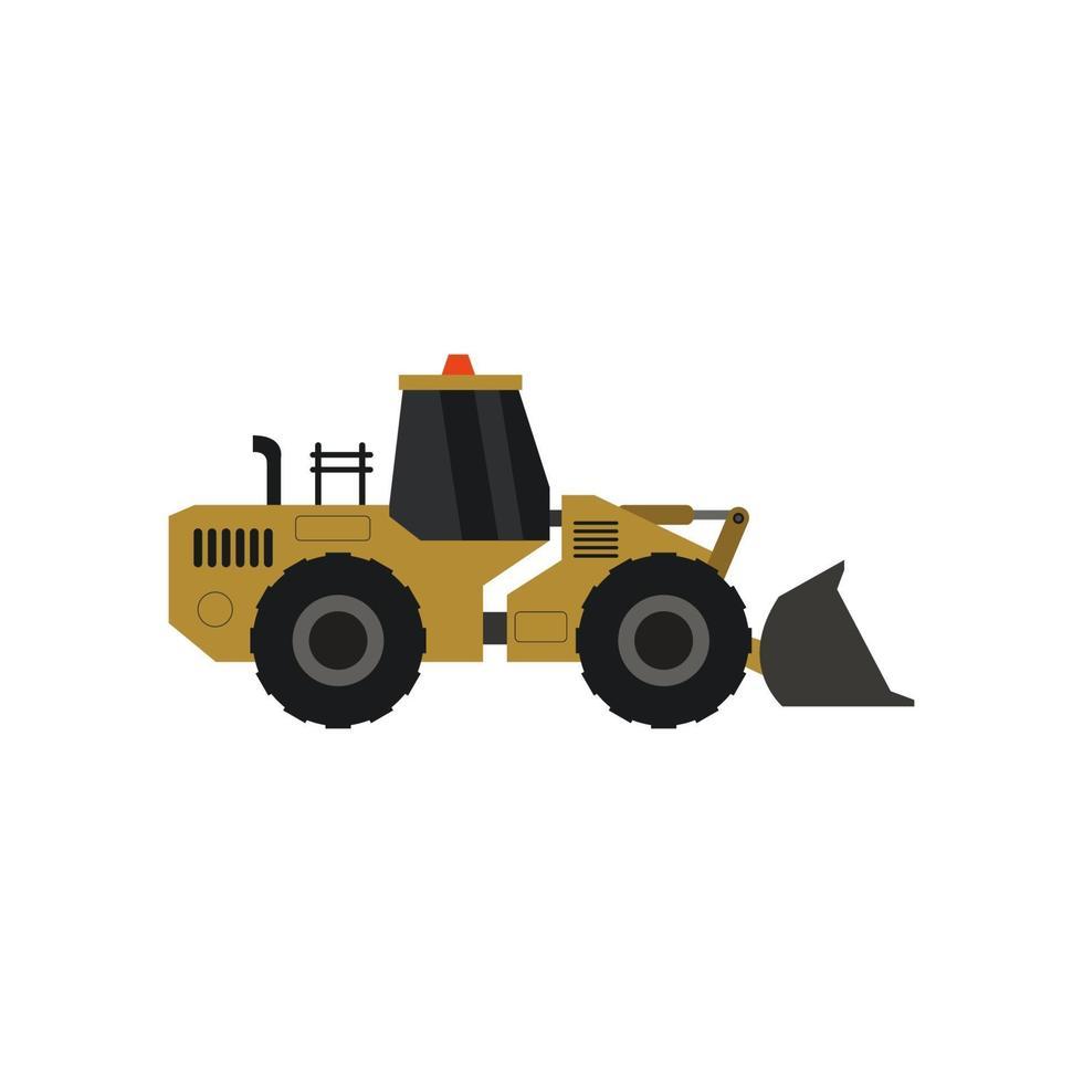 graafmachine geïllustreerd op witte achtergrond vector