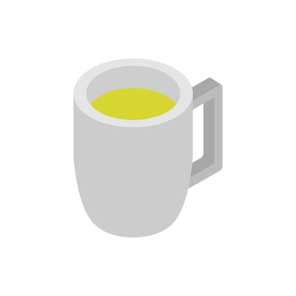 isometrisch bier op witte achtergrond vector