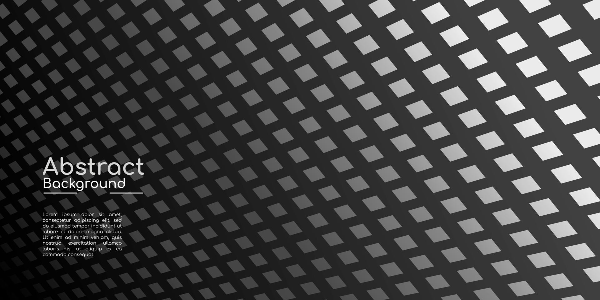 abstracte decoratieve achtergrond, donkere geometrische textuur vector