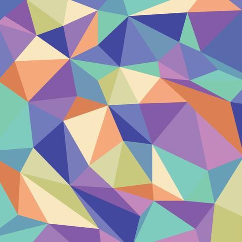 Geometrische caleidoscoop patroon vector