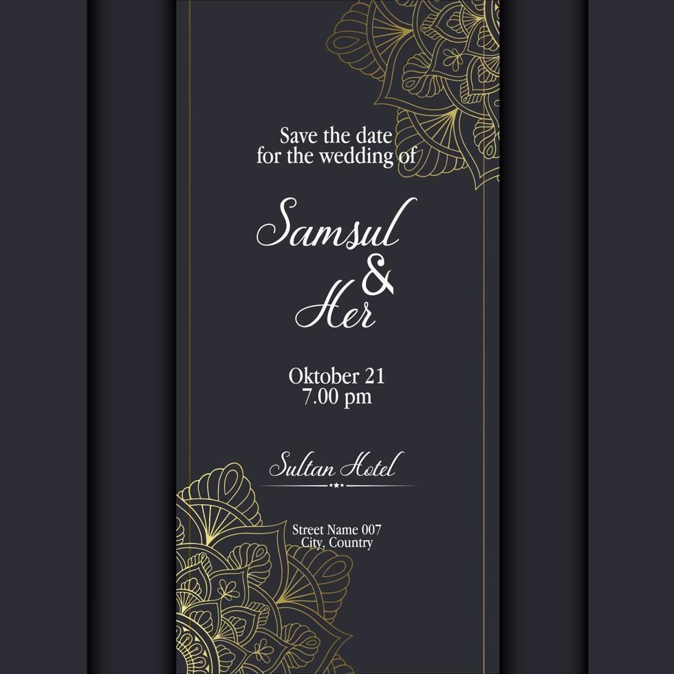 mandala met bloemenornamentpatroon, vector mandalaontspanningspatronen uniek ontwerp met aardstijl. hand tekenen zentangle mandala-element voor pagina decoratiekaarten, boek, logo's