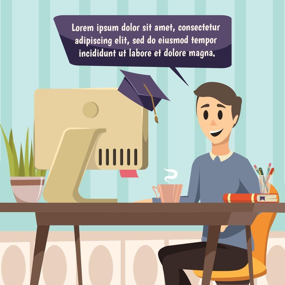 online onderwijs orthogonale samenstelling vector