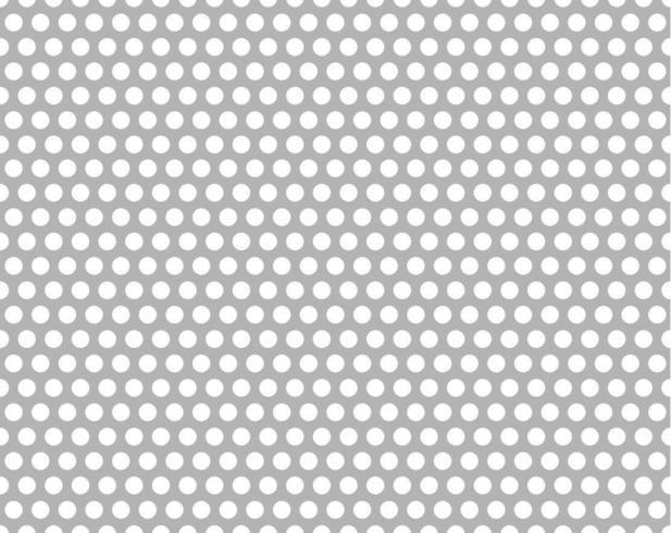 Gratis naadloos vector geperforeerd metalen patroon