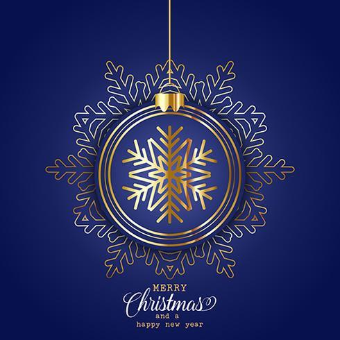 Elegant christmas achtergrond vector