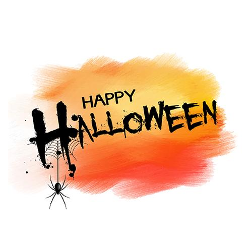 Halloween-achtergrond met spin vector
