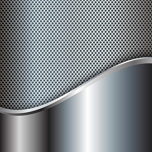 Abstracte metalen achtergrond vector