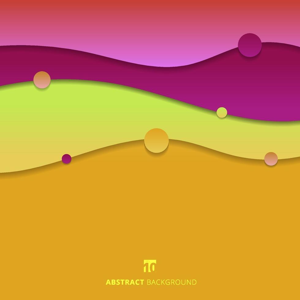 abstract achtergrond trendy vloeibaar vorm kleurrijk gradiënt modern concept vector