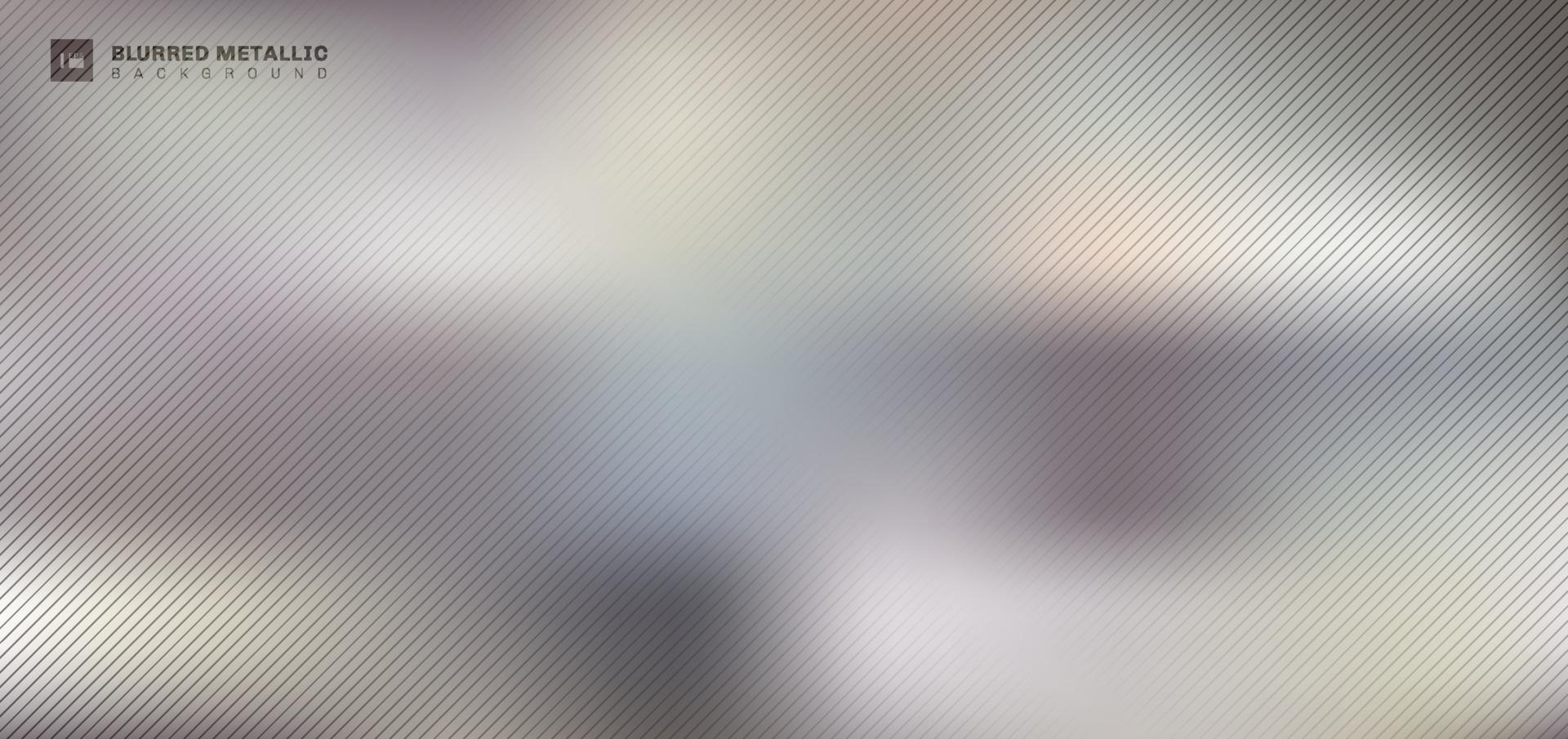 abstract wazig metalen achtergrond en textuur. vector