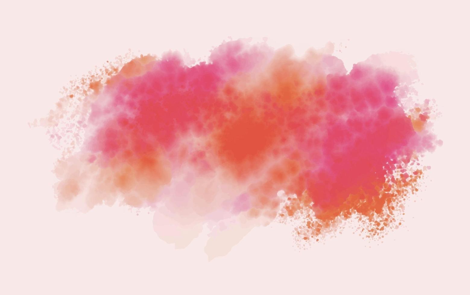 aquarel penseel textuur achtergrond vectorillustratie vector