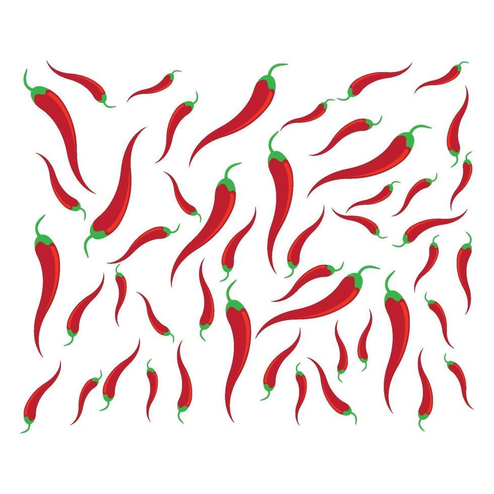 chili afbeeldingen illustratie vector