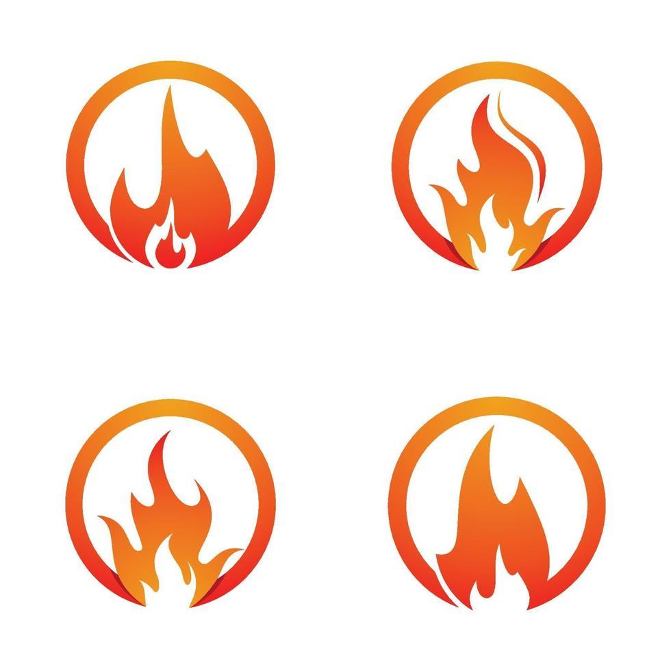 vuur logo afbeeldingen vector