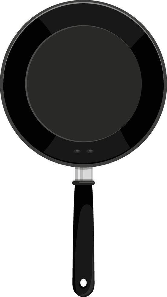 geïsoleerde pan op witte achtergrond vector