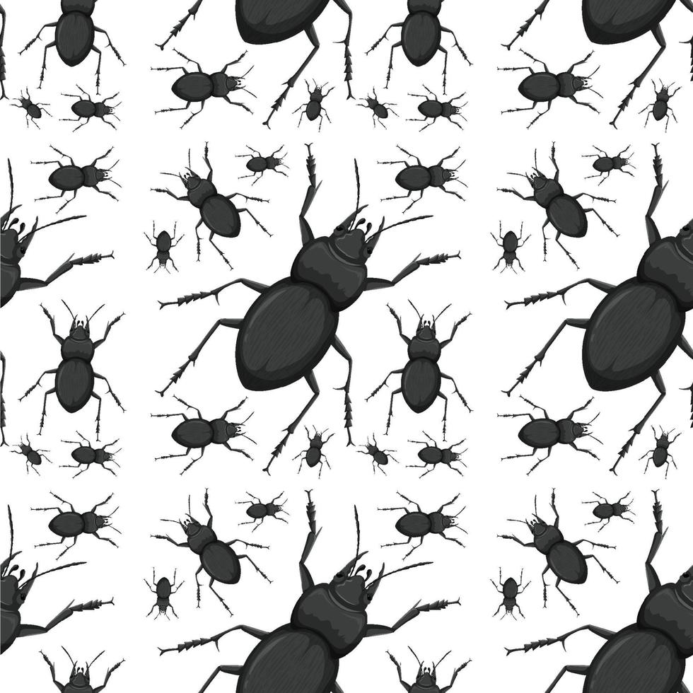 kever insect naadloze achtergrond vector