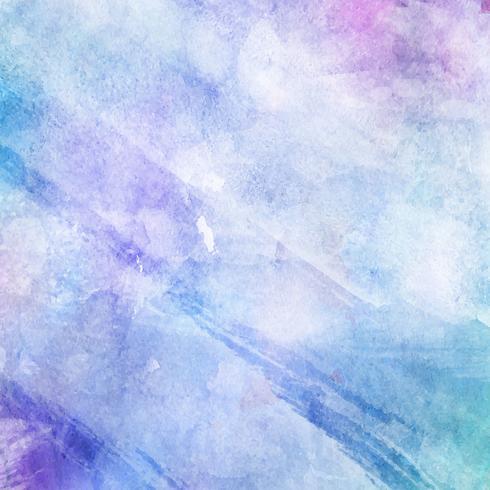 Pastel aquarel achtergrond vector