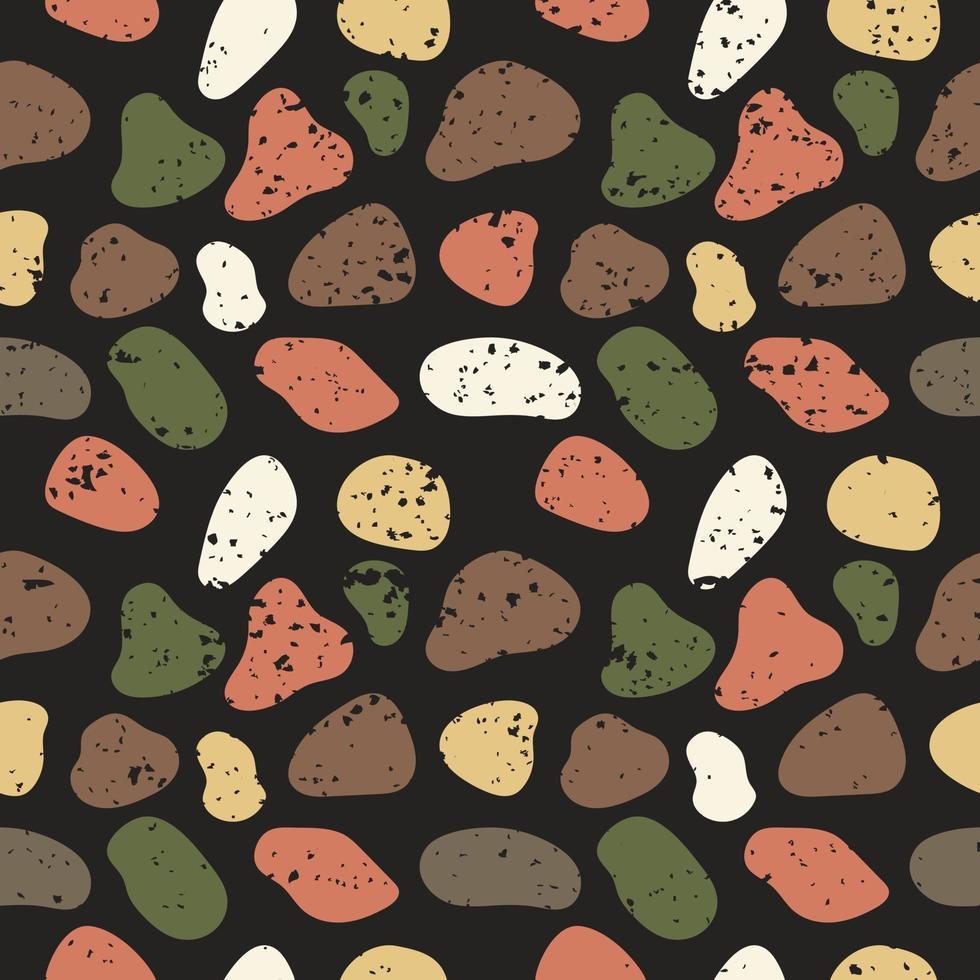 modern textuur abstract naadloos patroon met kleurrijke elementen vector