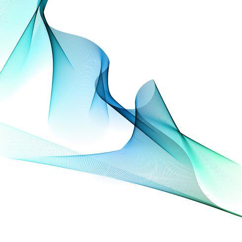 Abstracte stroomachtergrond vector