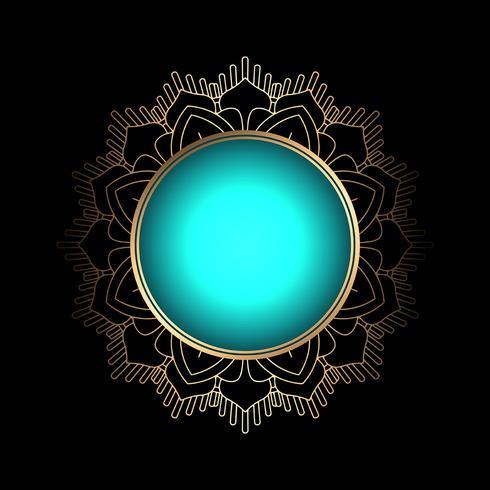 Decoratieve achtergrond vector