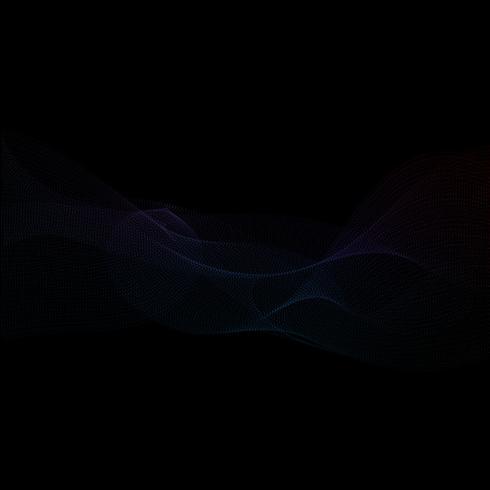 Abstracte technopunten vector