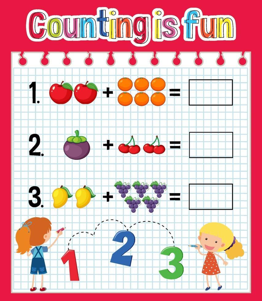 rekenblad aantal rekenmachines vector