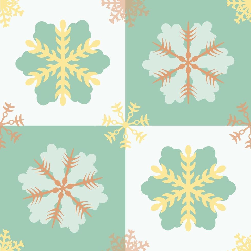 naadloze pastel oosterse bloem patroon achtergrond vector
